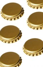 Guld 29 mm kapsel 50 stk