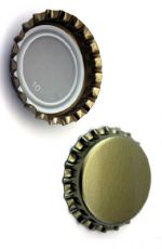 Guld 26 mm kapsel 100 stk