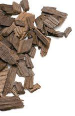 Franske ege chips mørk ristede 50 gram